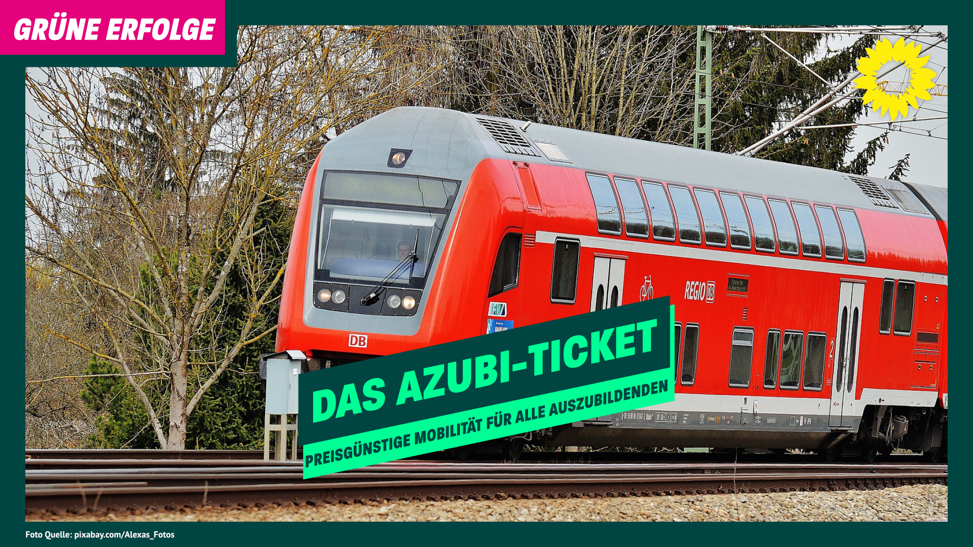 Grüne für das Azubi-Ticket