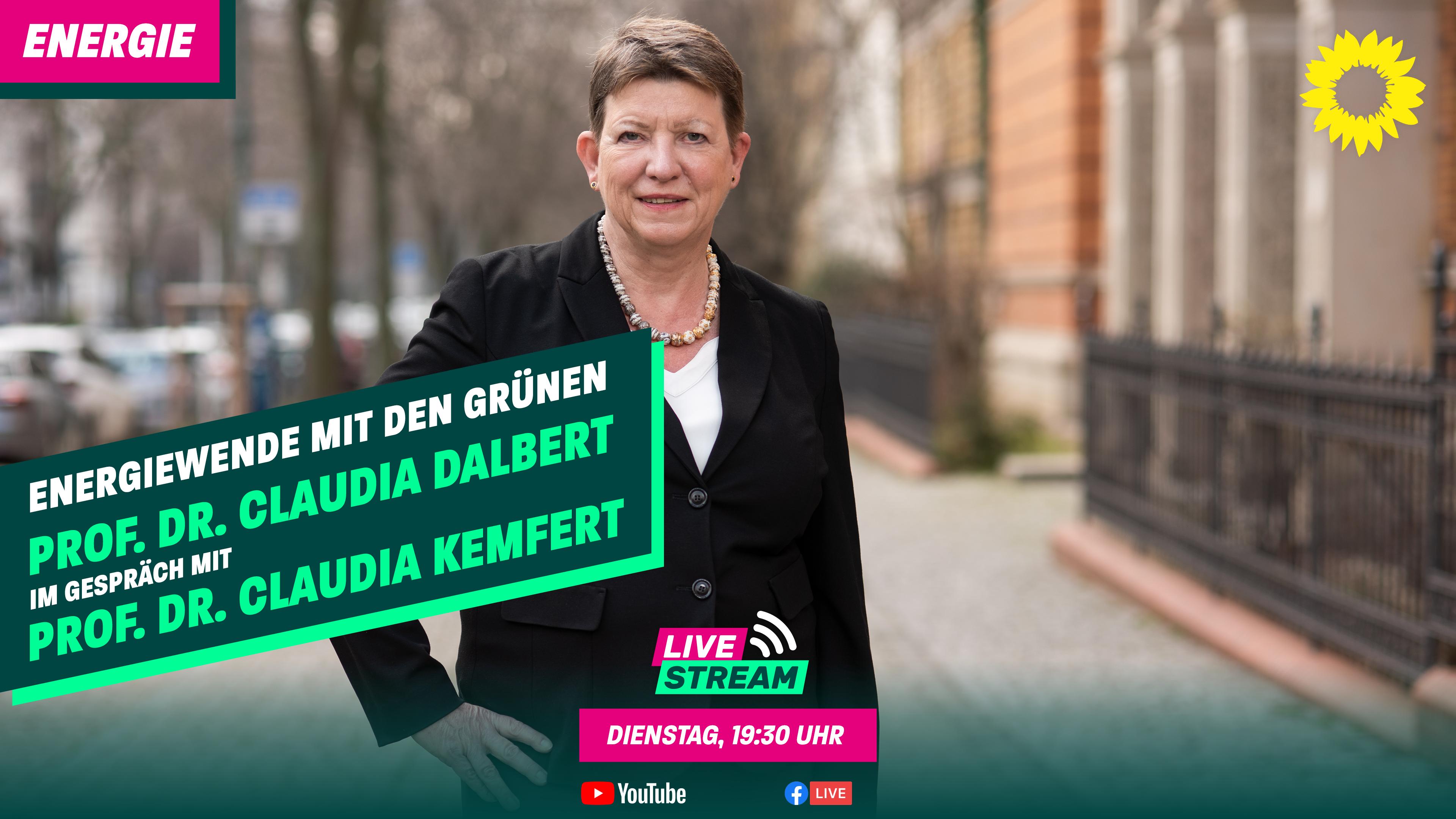 Energiewende mit den Grünen – am 1. Juni um 19:30 Uhr
