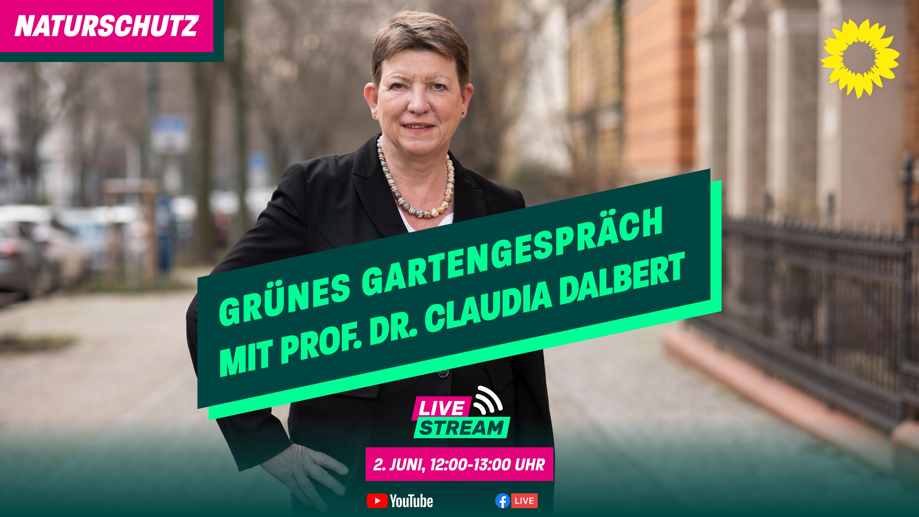 Claudias Gartengespräch – am 2. Juni um 12:00 Uhr