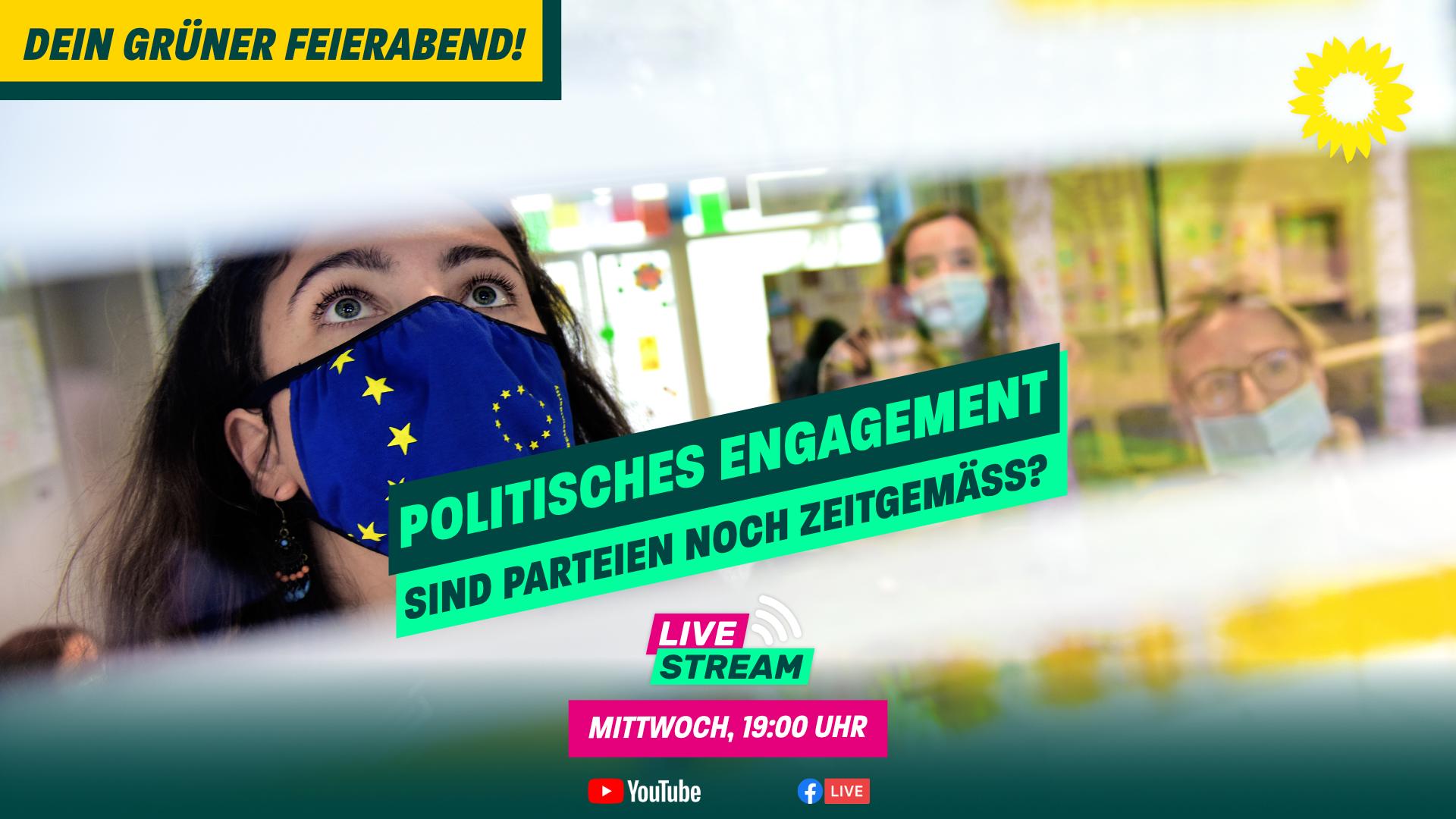 Dein Grüner Feierabend am 05.05. – mit Pia Osman und Gregor Laukert