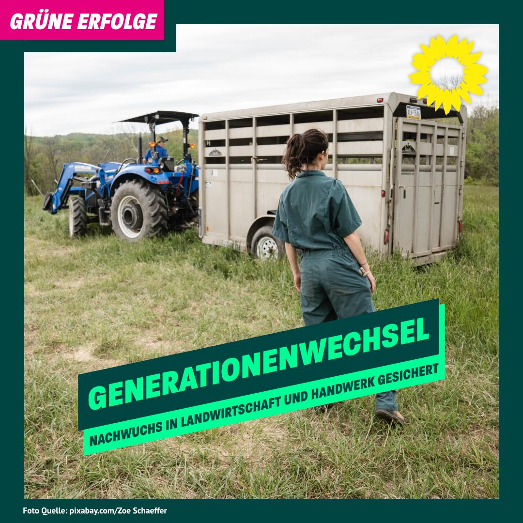 Grüne für den Generationenwechsel