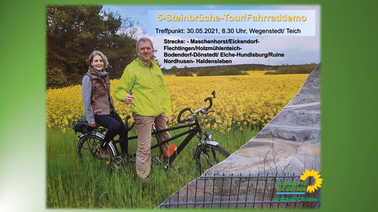 5-Steinbrüche-Tour – kein Wald für Steine