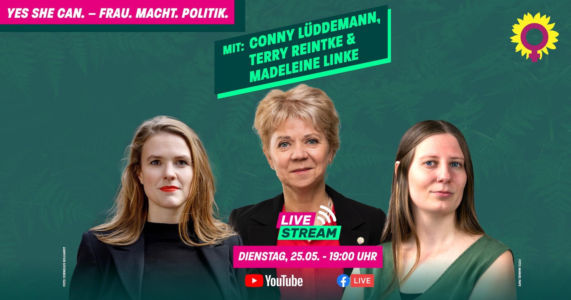 Yes She Can – Frau.Macht.Politik.