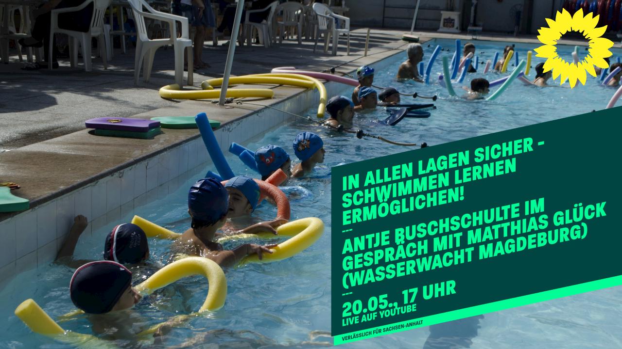 Schwimm-Talk mit Antje Buschschulte