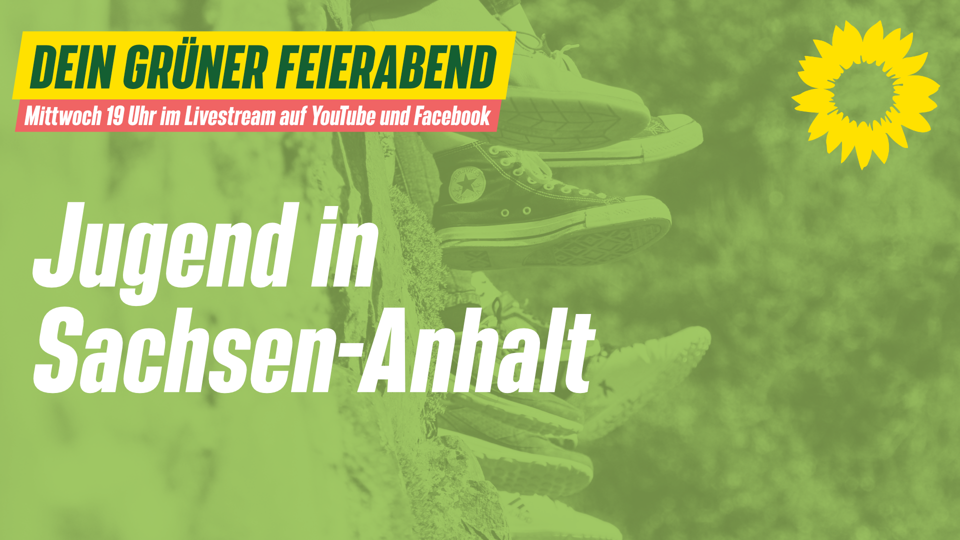 """Dein grüner Feierabend am 23.06. – """"Jugend in Sachsen-Anhalt"""" mit Sarah Einzel"""